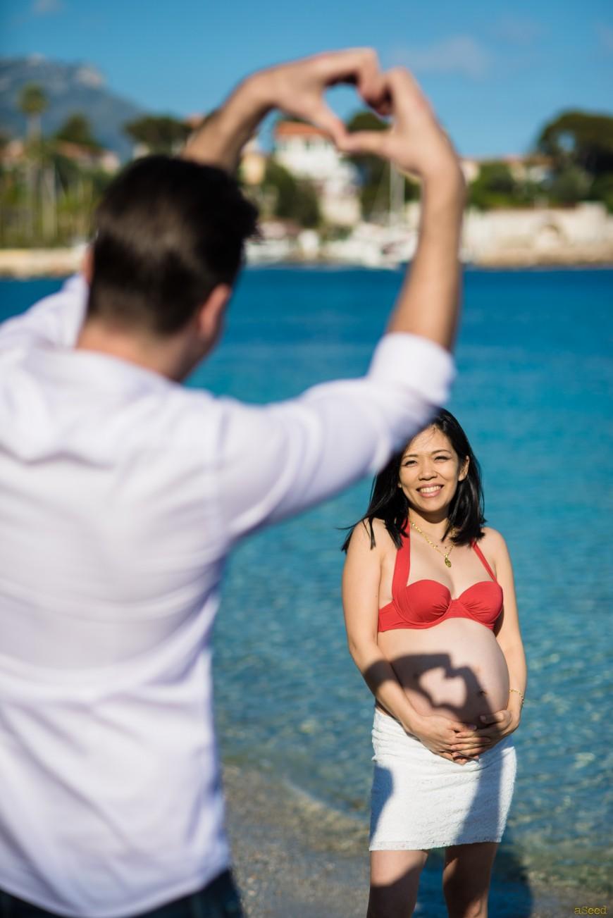 Photographe de grossesse à Nice - Photos grossesse 06