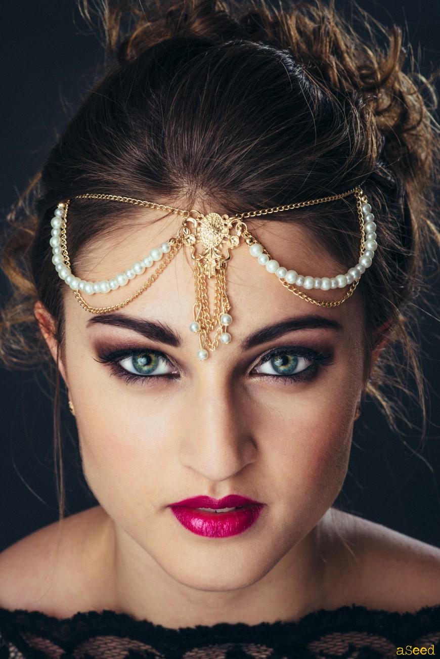 Portrait maquillage libanais