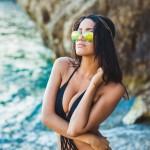 Sexy bikini shooting