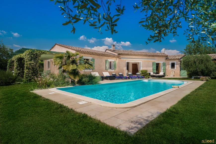 Photo villa provencale