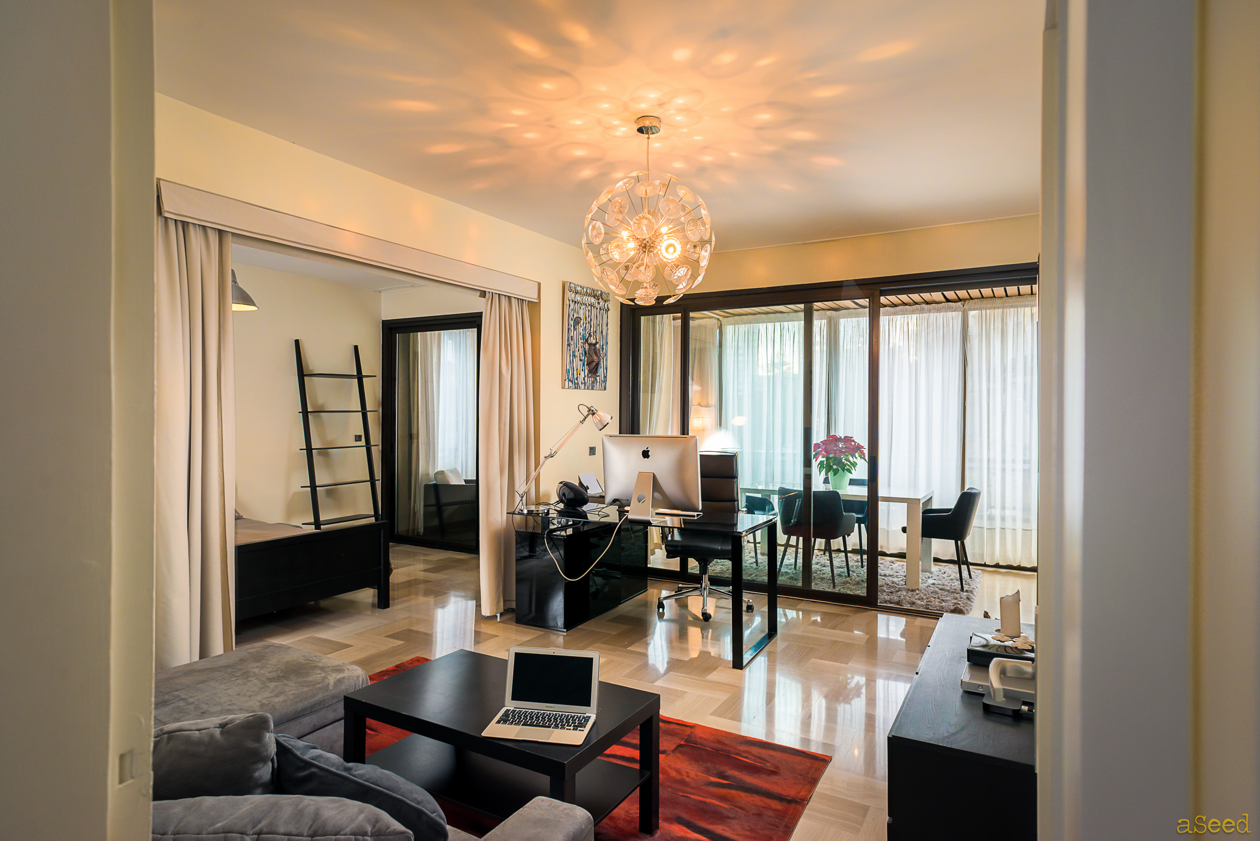 Salon appartement Monaco