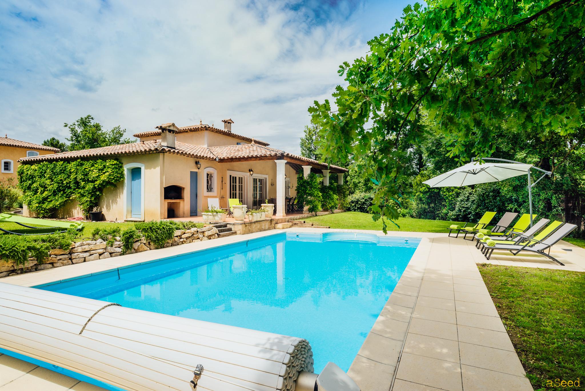 Villa provencale avec piscine