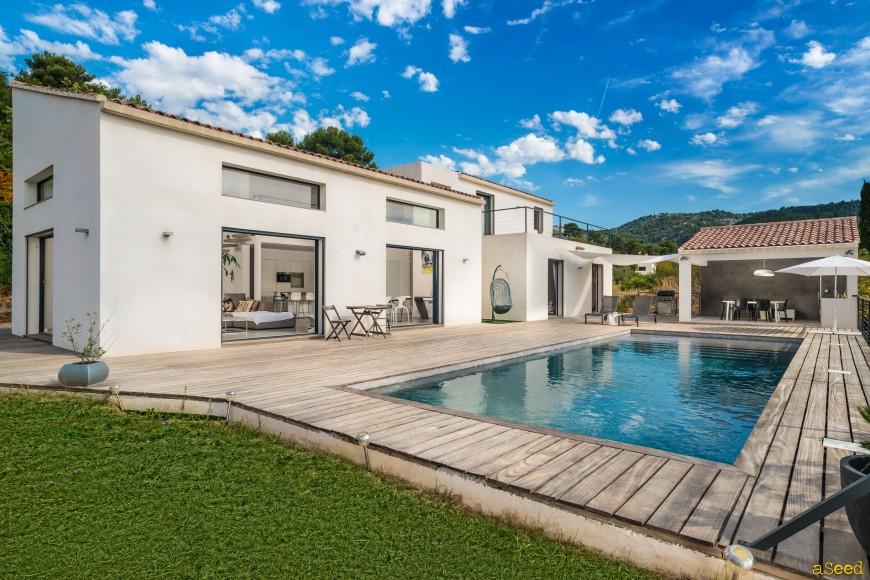 Photo architecture villa