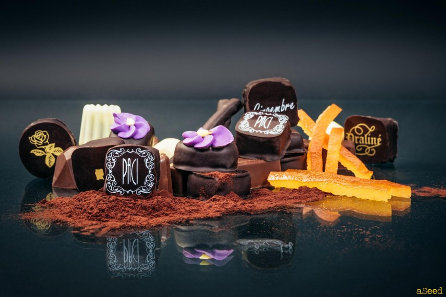 Packshot chocolat