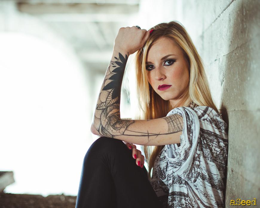 Under the bridge : séance mode & rock'n'roll
