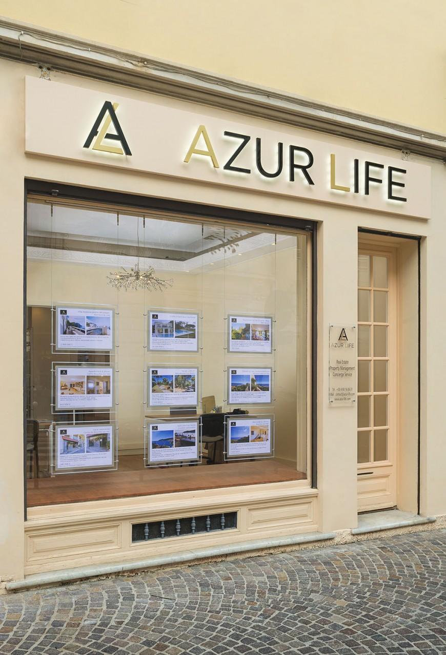 Agence immo beaulieu sur mer Azur Life