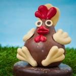 Poule en chocolat pour Paques