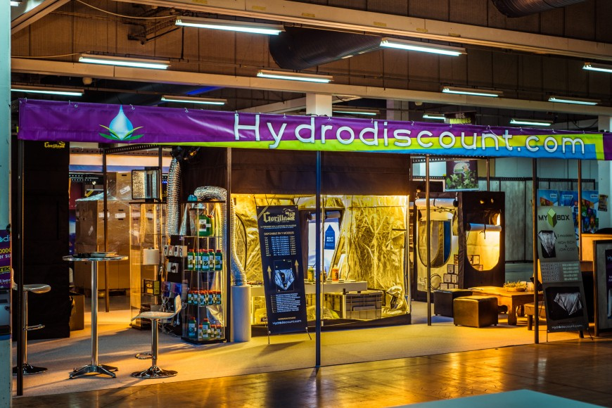 Stand Hydrodiscount Technigrow