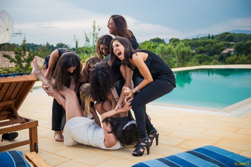 Shooting villa Cannes pour EVJF