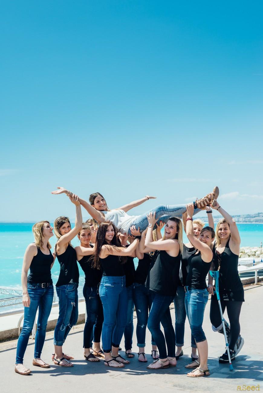 Séance photo EVJF à Nice