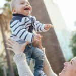 Photo bébé exterieur