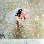 Séance photo EVJF Vieux Nice confettis