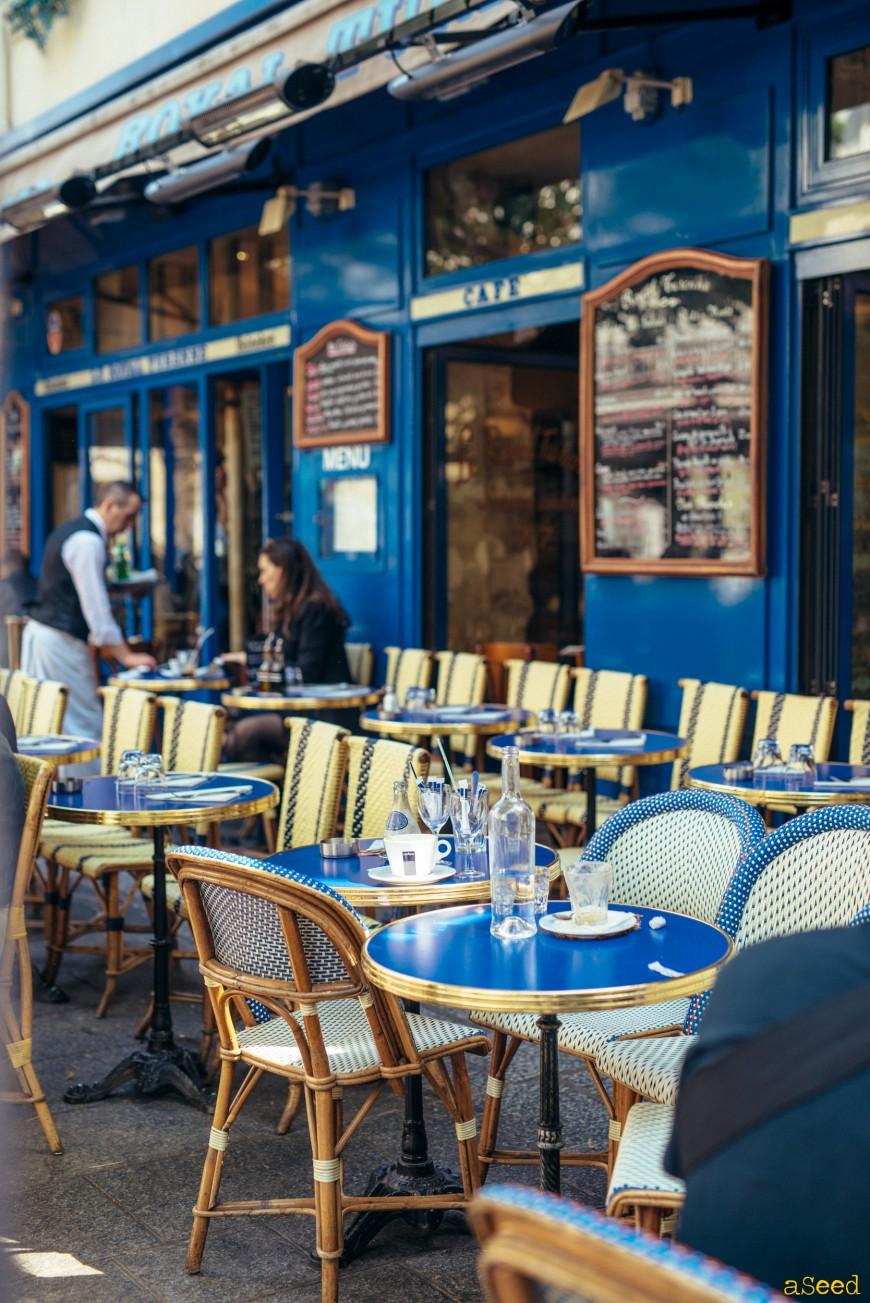 Le marais à Paris