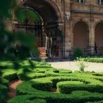 Jardin à la française au coeur du Marais