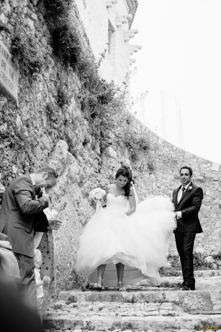 Mariage Carros  & Chateau Sainte-Roseline