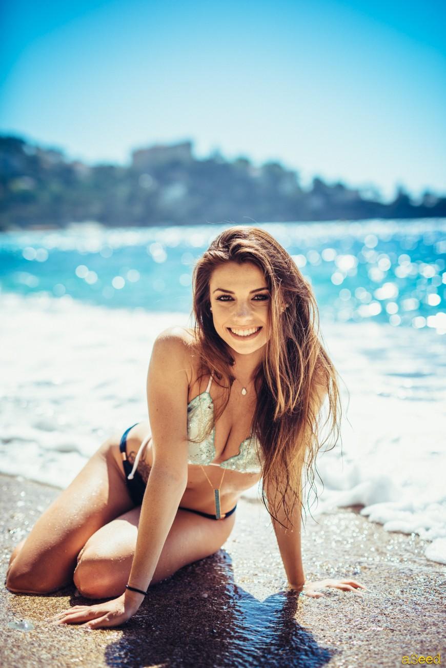 Shooting à la plage !
