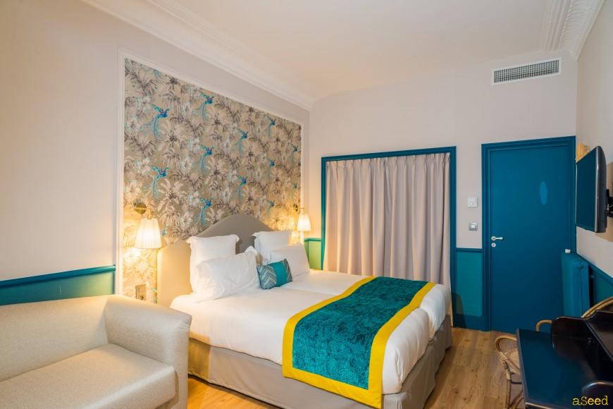 Reportage hotel Villa Otero Nice