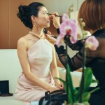 Preparation Make up au JW Mariott Cannes