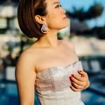 Festival du film shooting Martinez robe Christian Dior
