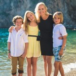 Séance photo en famille bord de mer