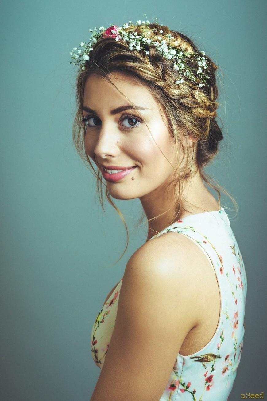 portrait floral    photographe  u00e0 nice