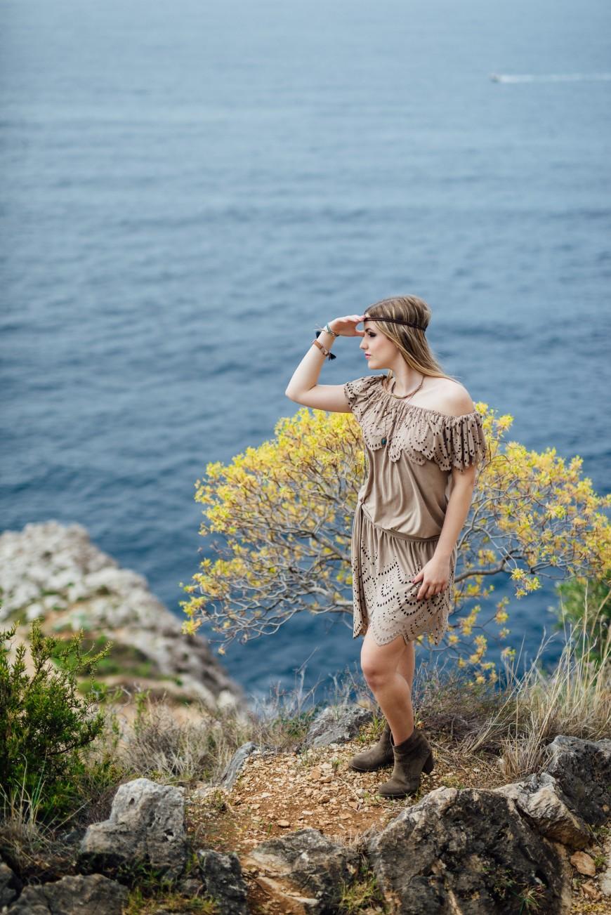 Séance photo boheme exterieur à Nice