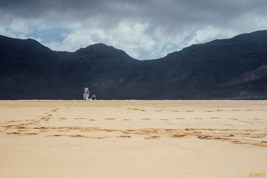 Seul au monde à El Cofete, Fuerteventura
