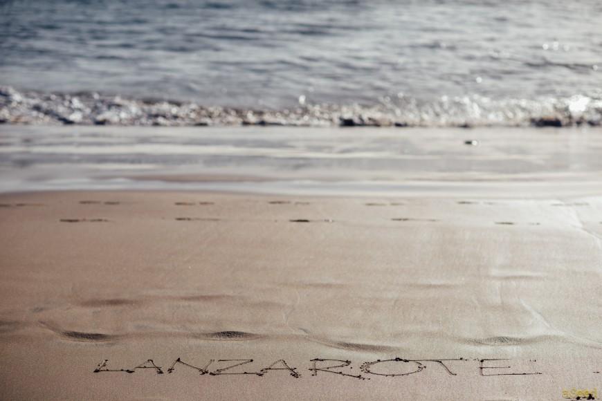 Dernière plage à Lanzarote
