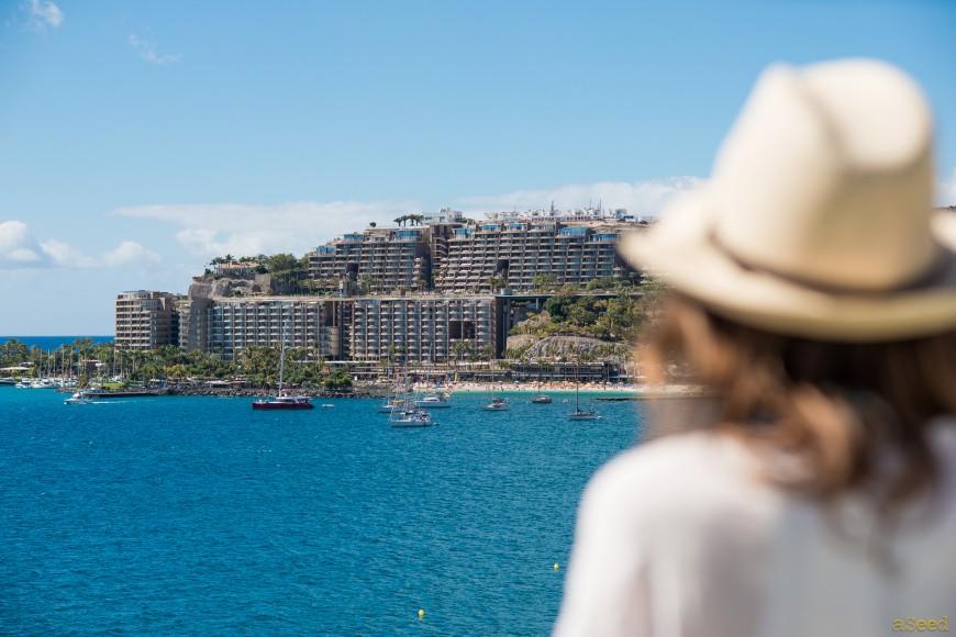 Puerto Mogan Gran Canaria et ses discrets complexes hoteliers