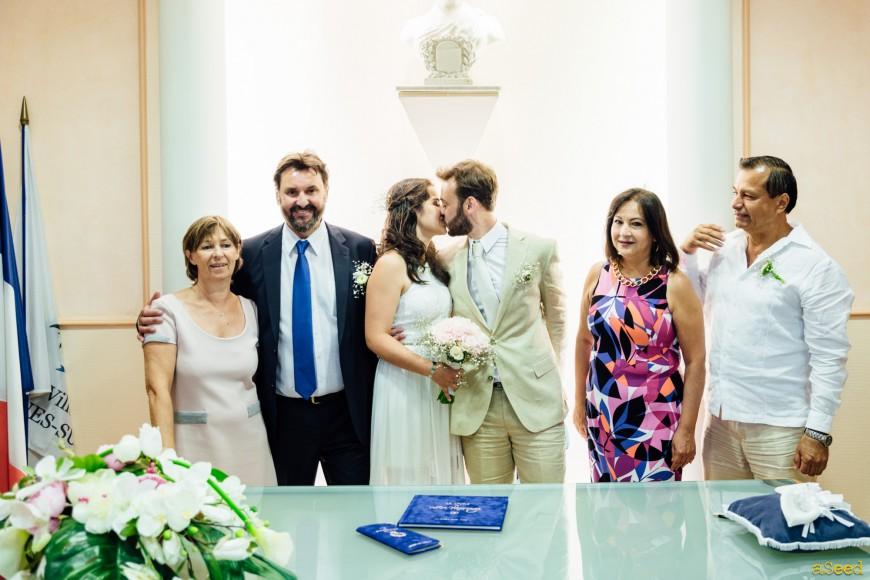 Mariage {M.&D.} à Cagnes-sur-mer