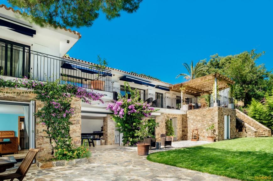 Photographe Villa vue mer Rayol Canadel (8)