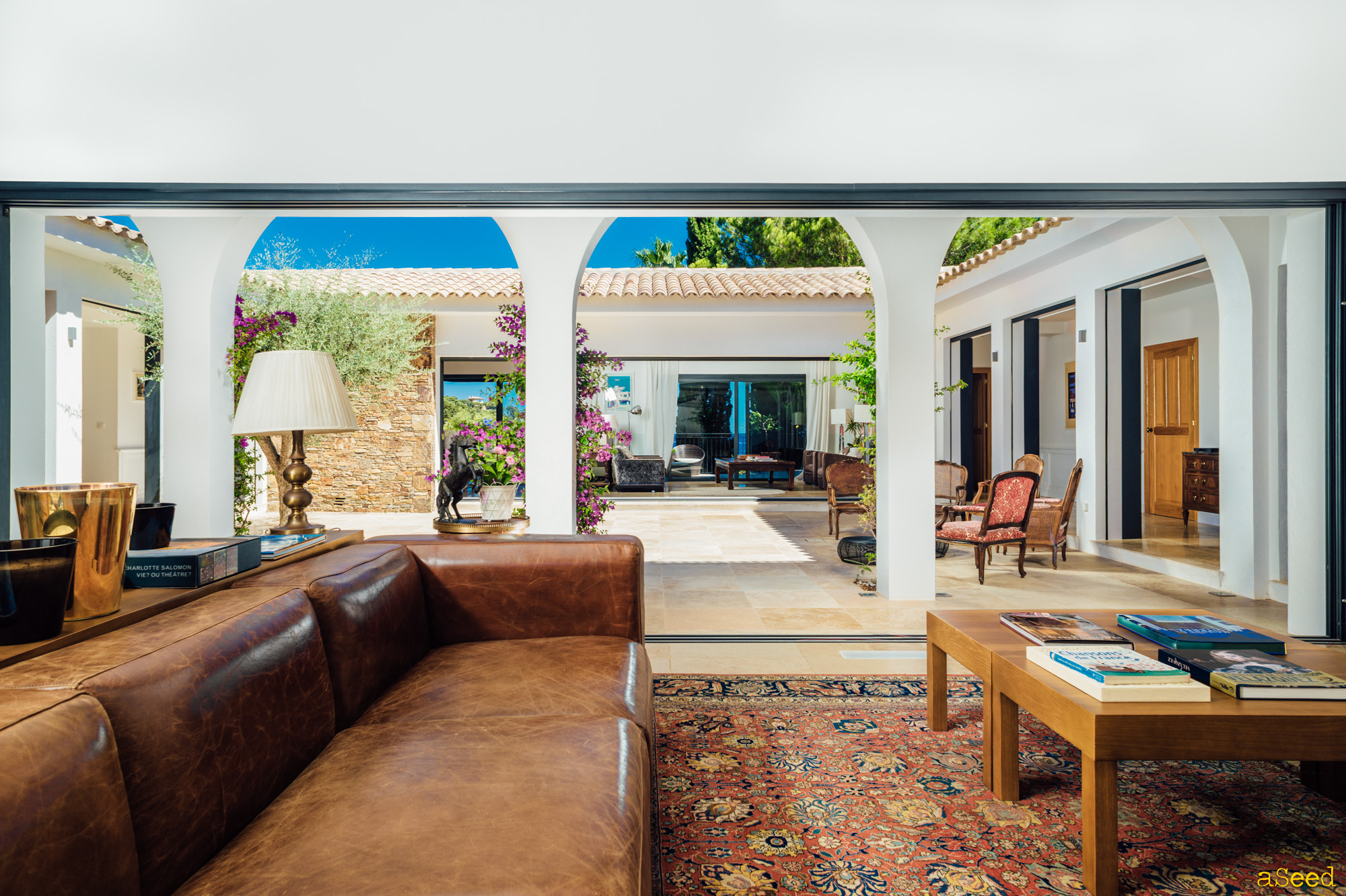 Photographe Villa vue mer Rayol Canadel (9)