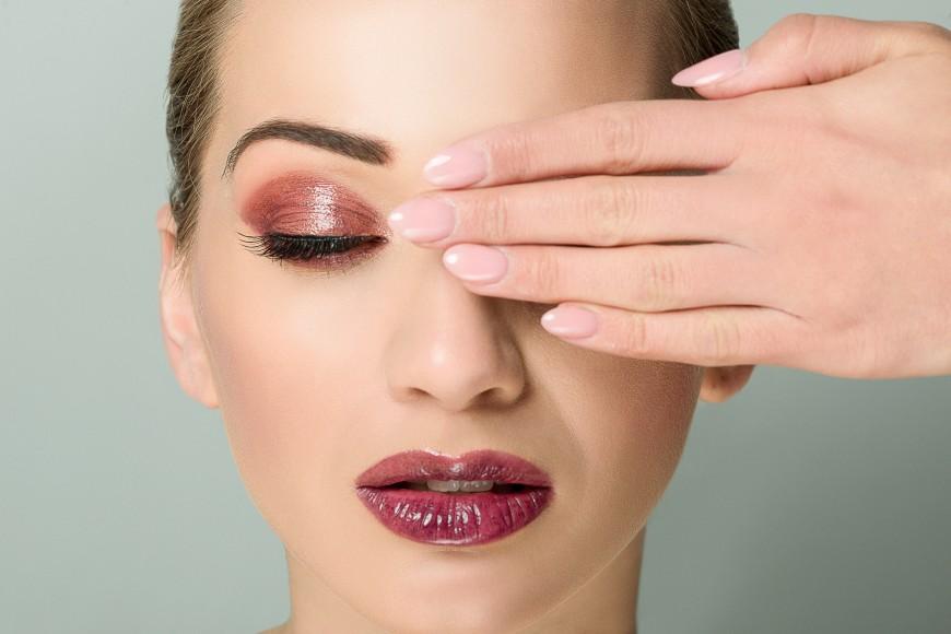 portrait beauté makeup
