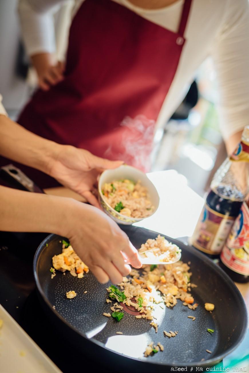 Photo cours de cuisine Thaï (1)