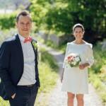 Un mariage intimiste à Entrevaux