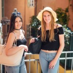 Shooting photo touristes Nice entre amies (3)