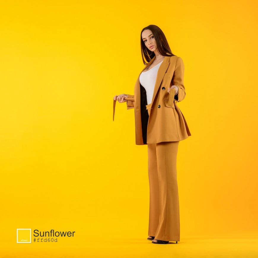 Sunflower - Séance photo colorée studio Nice