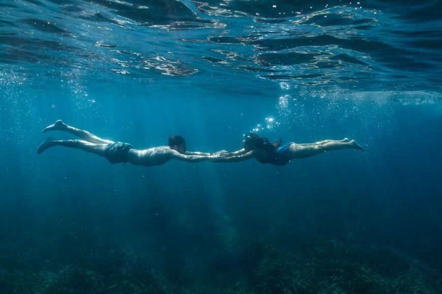 Séance photo grossesse plage et underwater (10)