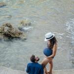 Séance photo grossesse plage et underwater (5)