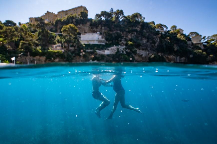 Séance photo grossesse plage et underwater (7)