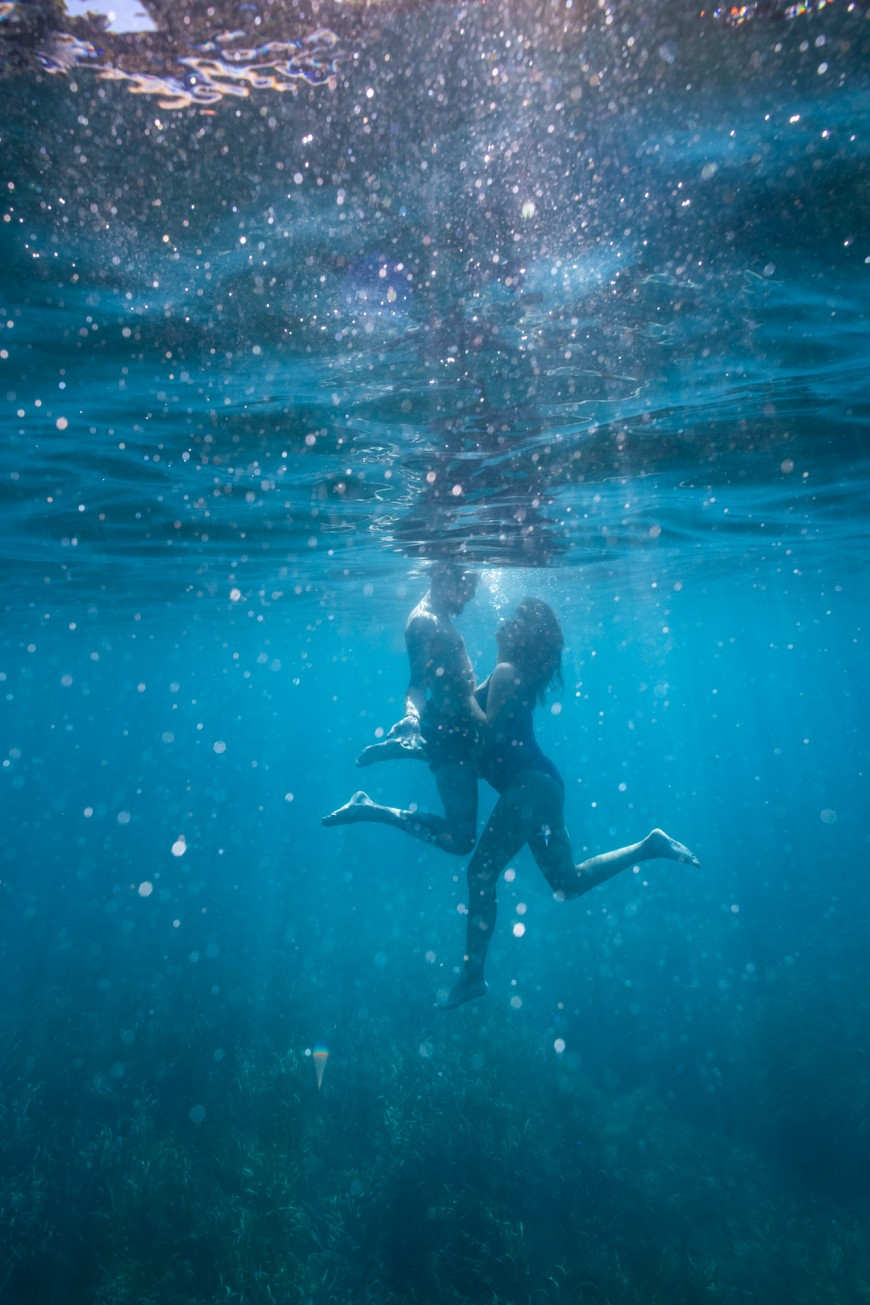 Séance photo grossesse plage et underwater (8)