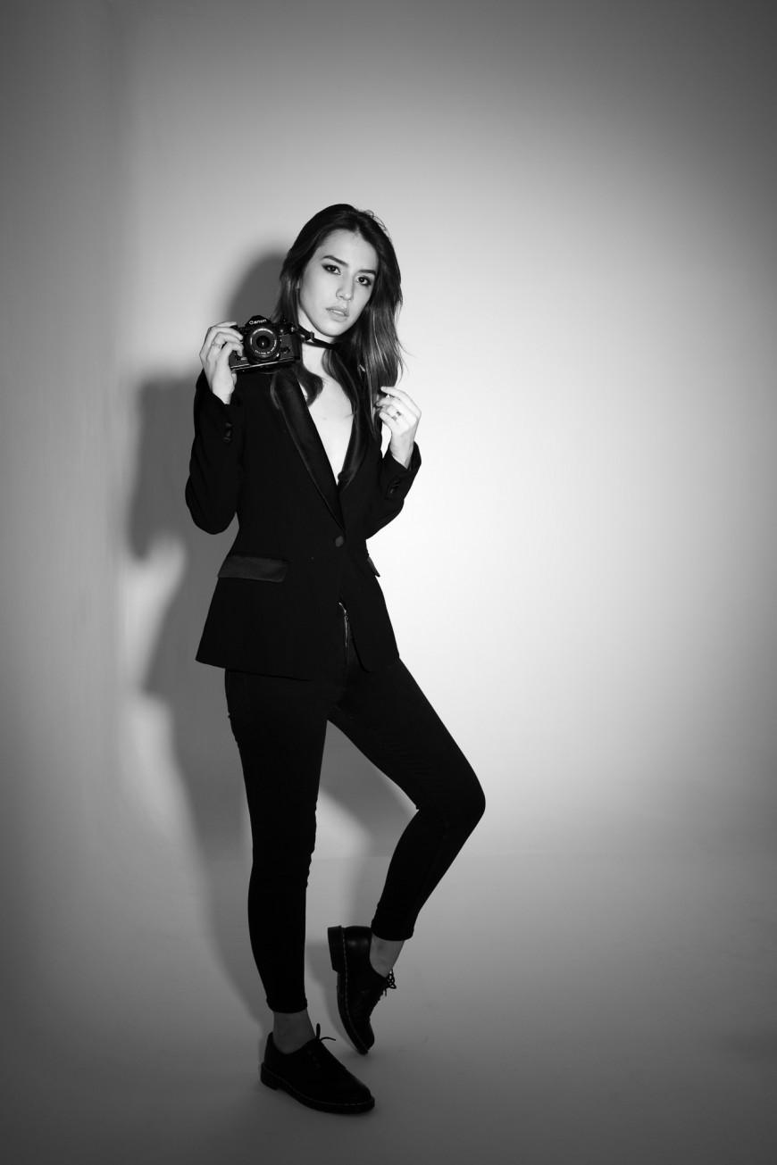 Photographe studio mode Nice Noir et blanc (2)