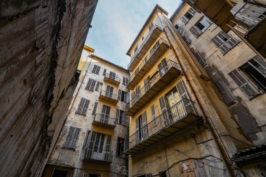 Reportage photo immeuble ancien Nice (1)